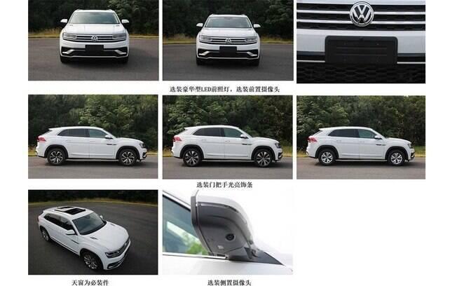 Imprensa chinesa registrou detalhes do VW Atlas Cross Sport, mercado que promete garantir volume de vendas