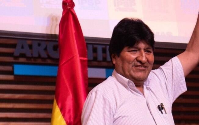 Ex-presidente Evo Morales confirmou candidatura ao Senado da Bolívia