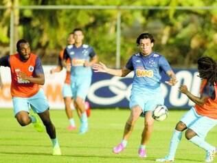Seriedade. Jogadores do Cruzeiro destacam também o trabalho na Toca da Raposa II como um dos responsáveis pela boa fase do time