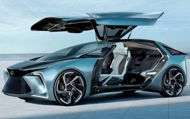 Lexus LF-30 EV tem desenho ousado e parte aerodinâmica bastante avançada entre os principais destaques