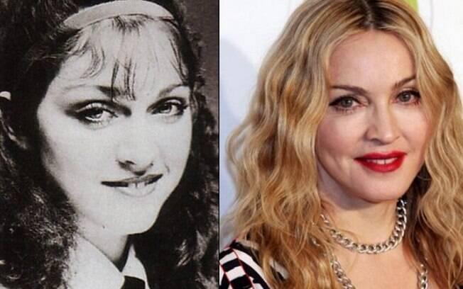 Madonna: antes e depois da fama