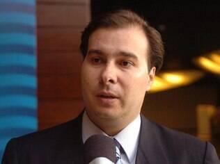 Rodrigo Maia (DEM-RJ) preside a Comissão Especial da reforma política