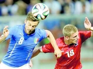 Marchisio foi o autor do gol italiano no duelo de ontem contra a seleção de Luxemburgo