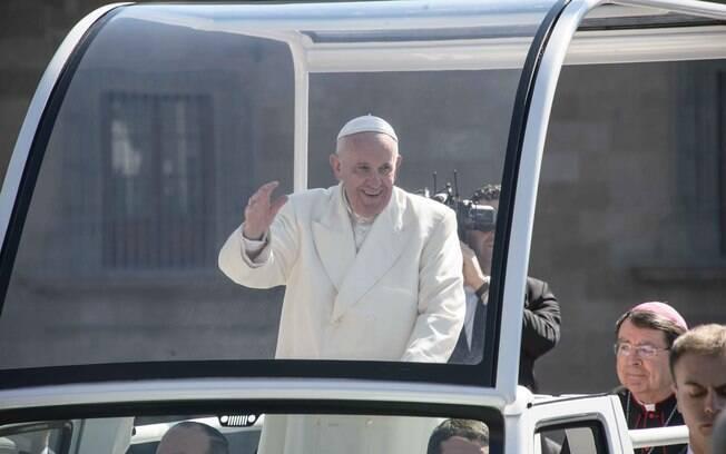 """Papa Francisco também declarou que """"os criminosos gozam do direito inviolável à vida"""""""
