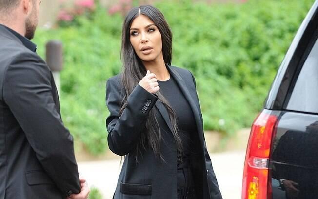 Kim Kardashian resolveu aceitar sua hereditariedade e começou a estudar direito