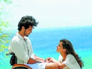 """Curaçao. Atores Bruno Ferrari e Thaís Melchior, protagonistas de """"Vitória"""", gravaram cenas maravilhosas no Caribe"""