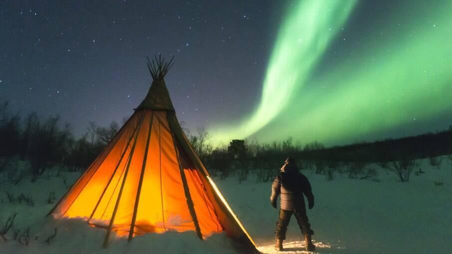 Veja em quais lugares é possível ver uma aurora boreal