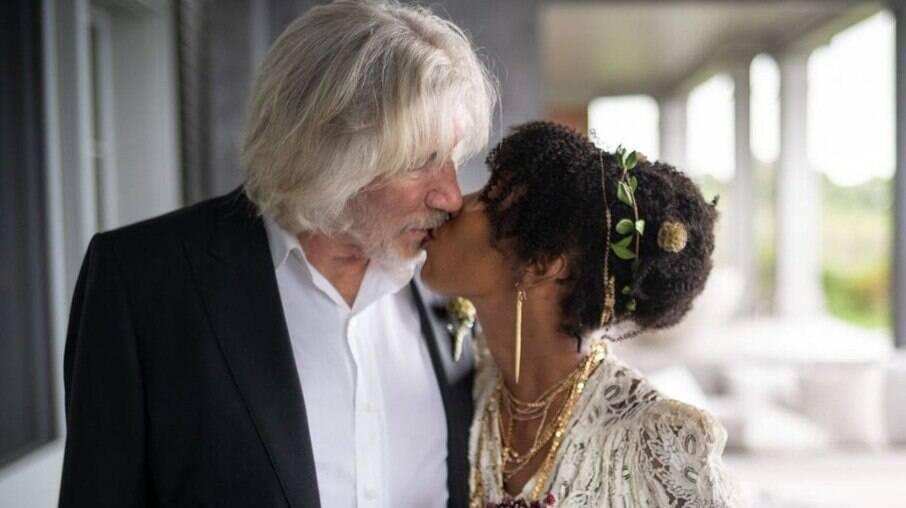 Roger Waters e Kamilah Chavis