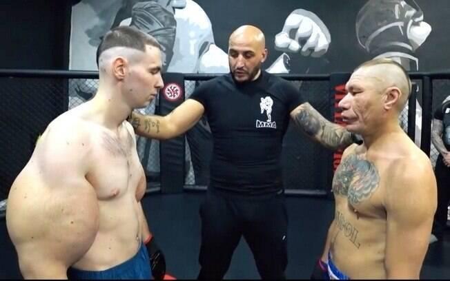 Kirill Tereshin%2C conhecido como Popeye russo%2C perdeu sua luta de estreia no MMA