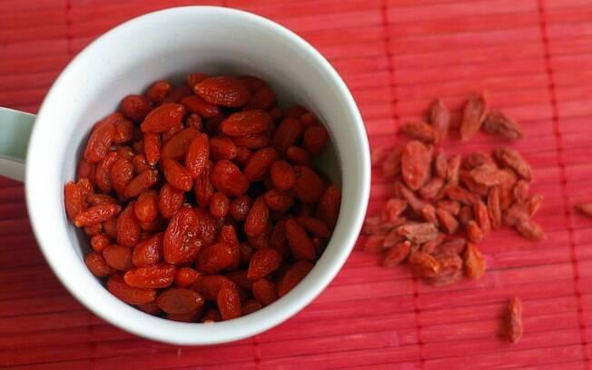 Goji Berry faz parte de uma alimentação funcional