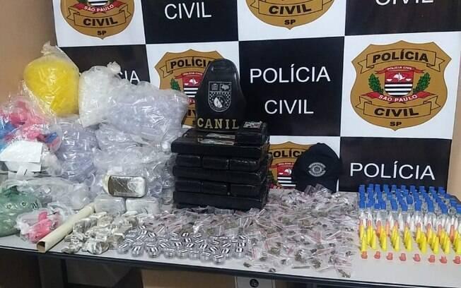 GM de Cosmópolis realiza apreensão de drogas em terreno baldio