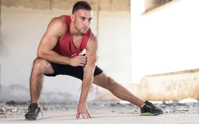 De acordo com o preparador físico, o aquecimento dá disposição e ainda prepara o corpo para o treino