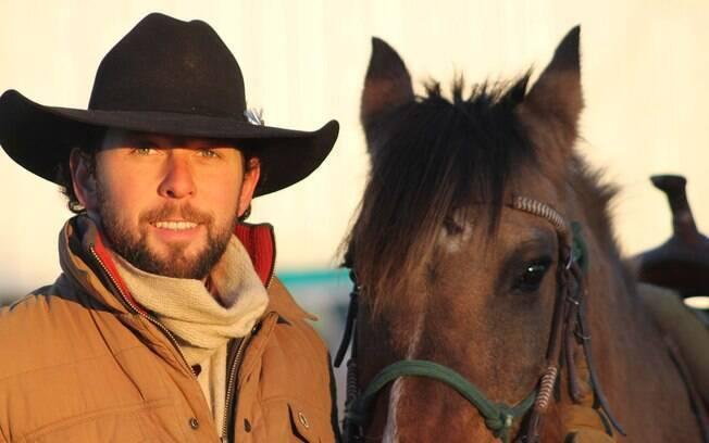 Felipe Masetti percorreu as Américas a cavalo