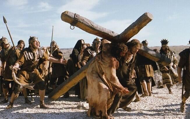 Apesar da polêmica, 'A Paixão de Cristo', de Mel Gibson, fez muito sucesso em 2004. Foto: Divulgação