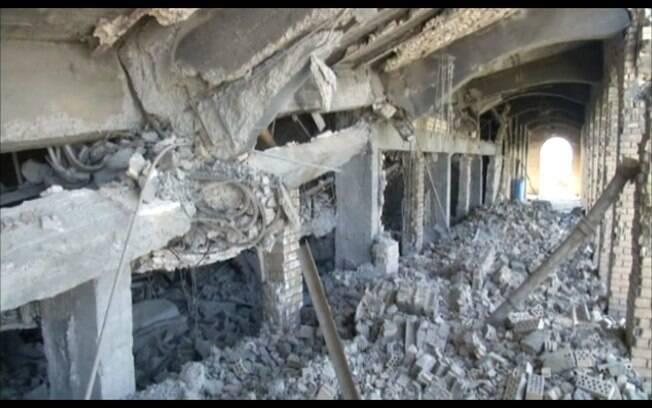 Conflito no Iraque destrói tumba de Saddam Hussein em sua cidade natal