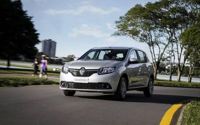 Com a vantagem de ser o mais espaçoso dos carros 1.0, o Renault Sandero é o mais barato dos franceses - até a chegada do Kwid