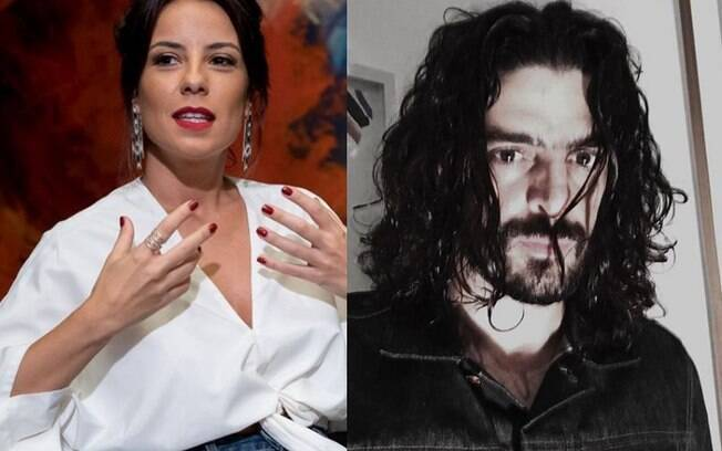 Andréia Horta engata namoro com ator Julio Machado