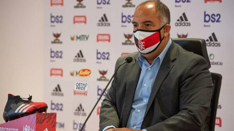 Marcos Braz não gostou de post do Fox Sports
