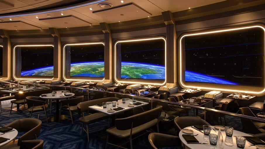 Space 220, novo restaurante do Epcot