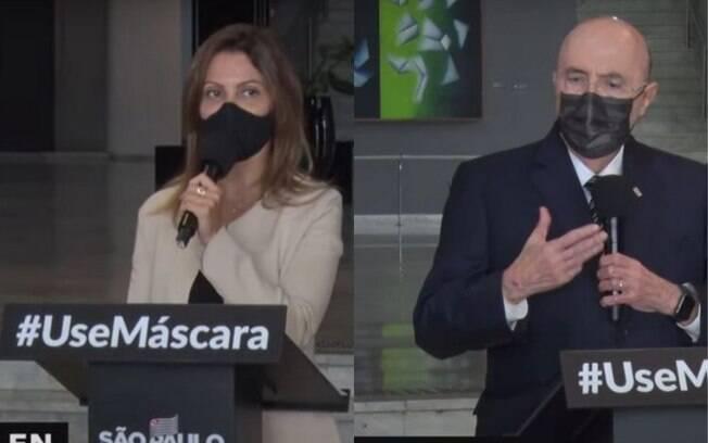 Patricia Ellen e Henrique Meirelles, secretários de São Paulo, afastaram a ideia de criação de um auxílio emergencial estadual em SP