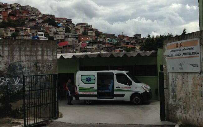 Unidade Básica de Saúde (UBS) e Atendimento Médico Ambulatorial (AMA) no Jardim Ceci, zona note de São Paulo
