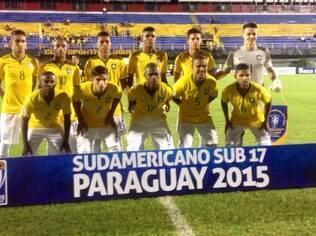 Time sub-17 do Brasil no sul-americano da categoria no Paraguai