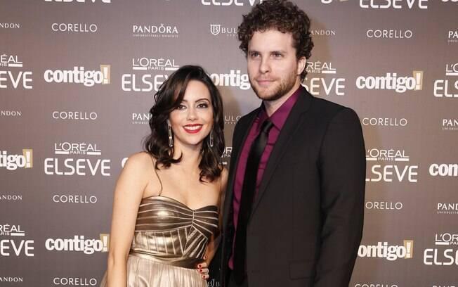 Thiago Fragoso e a esposa, Mariana Vaz