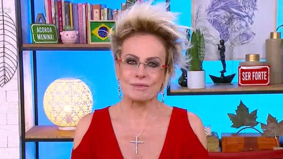 Ana Maria se esforça para segurar choro ao falar de Paulo Gustavo