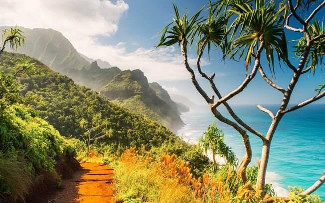 A 'Ilha Jardim' é um dos paraísos do Havaí