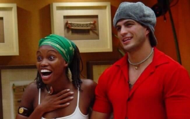 Kleber Bambam e Vanessa, finalistas da primeira edição do Big Brother Brasil