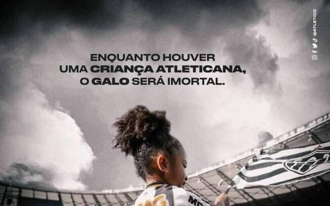 Atletico-MG usa lema histórico do Vasco e Cruzmaltino ironiza no Twitter
