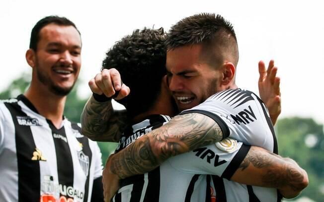 Atlético-MG venceu o Santos em Belo Horizonte