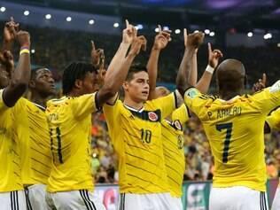 James Rodríguez foi mais uma vez decisivo e colocou a Colômbia nas quartas de final