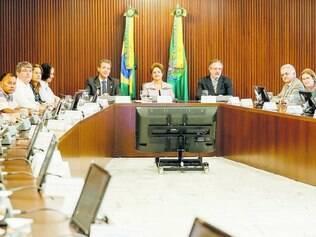 Primeiro passo. Nesta semana, a presidente Dilma se reuniu com o Conselho Nacional de Saúde