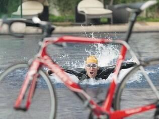 Haja disposição. Diogo Sclebin tem treinado forte em busca dos Jogos Olímpicos, e sem descanso, nem durante o feriado prolongado
