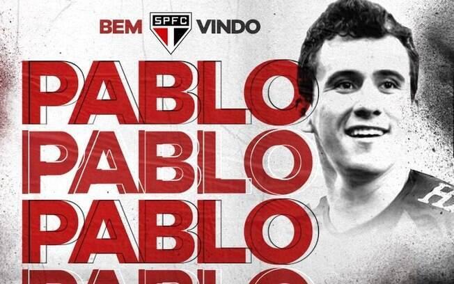 Mercado da bola: São Paulo confirmou acerto com Pablo