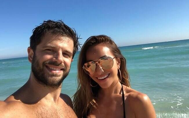 Duda Nagle gostaria de ter filho antes de casar com Sabrina Sato, mas a apresentadora não aprova essa ideia