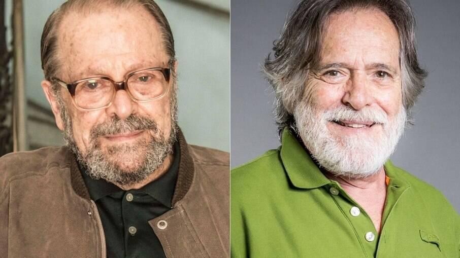 Carlos Vereza e José de Abreu