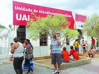 Recorrente.  Diretor do Sind-Saúde reclama das constantes ameaças feitas aos funcionários da UAI Sete