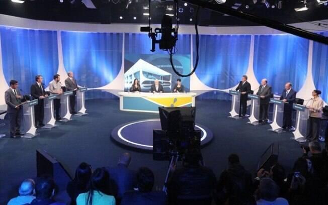 Debate da RedeTV! reuniu oito candidatos à Presidência da República