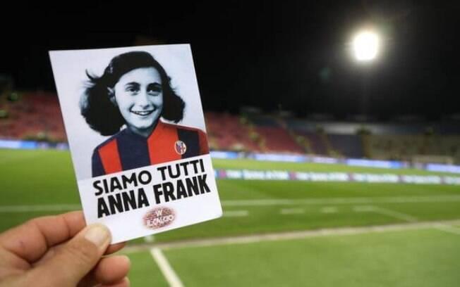 Antissemitismo: Rosto de Anne Frank foi utilizado por ação preconceituosa na Itália