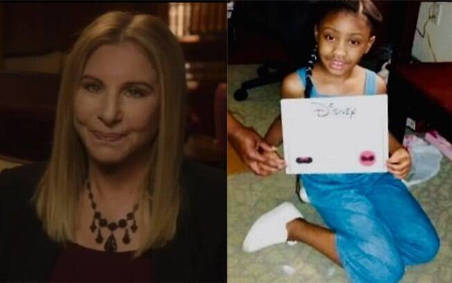 Barbra Streisand e Gianna Floyd