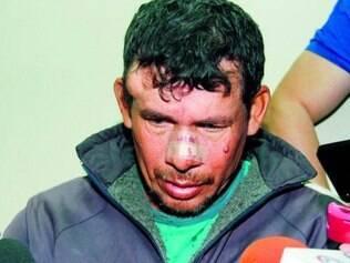 Benitez Gilberto Zarate, 42, nega ter abusado de sua enteada