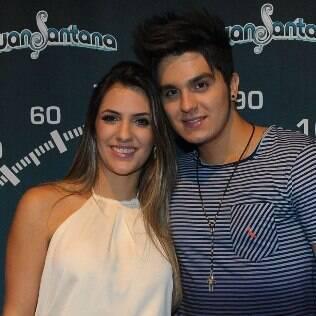 Luan Santana com Jade Magalhães