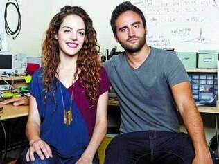 Inventores. A ideia do goTenna foi desenvolvida pelos irmãos brasileiros Daniela e Jorge Perdomo, que moram em Nova York