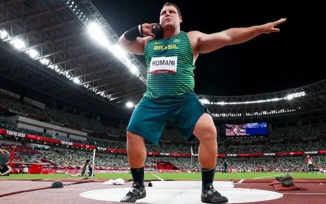 Darlan Romani ficou em quarto lugar nos Jogos Olímpicos de Tóquio