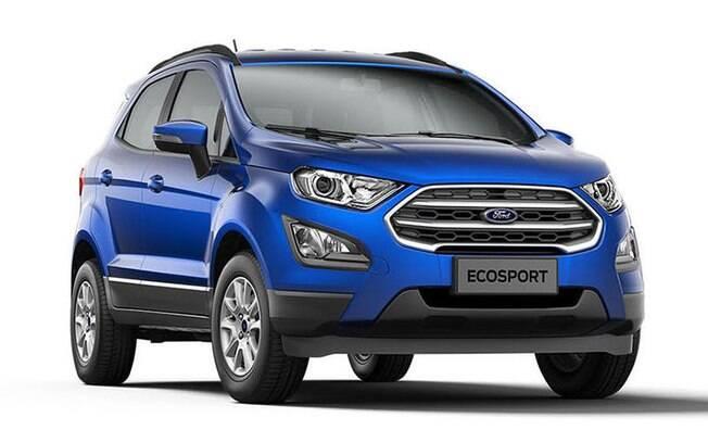 Ford EcoSport SE tem motor econômico e bom nível de equipamentos, mas seu câmbio é o convencional de 5 marchas