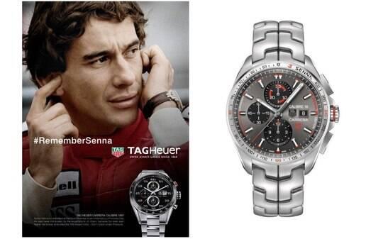 62b006b974c Marca de relógios lança modelos em homenagem a Ayrton Senna - Estilo - iG