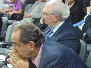 Kalil e Gilvan acompanham apreensivos decisão do STJD