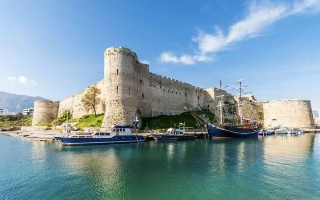 O Castelo de St. Hilarion,é um dos principais pontos turísticos do Chipre